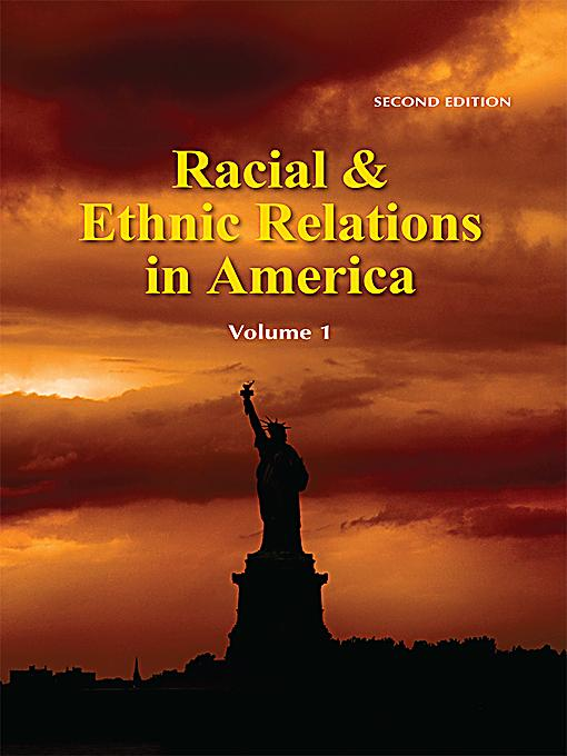 ethnic relations Soc 205: race and ethnic relations online available in this course, students  examine the social and historical development of racial and ethnic stratification,.