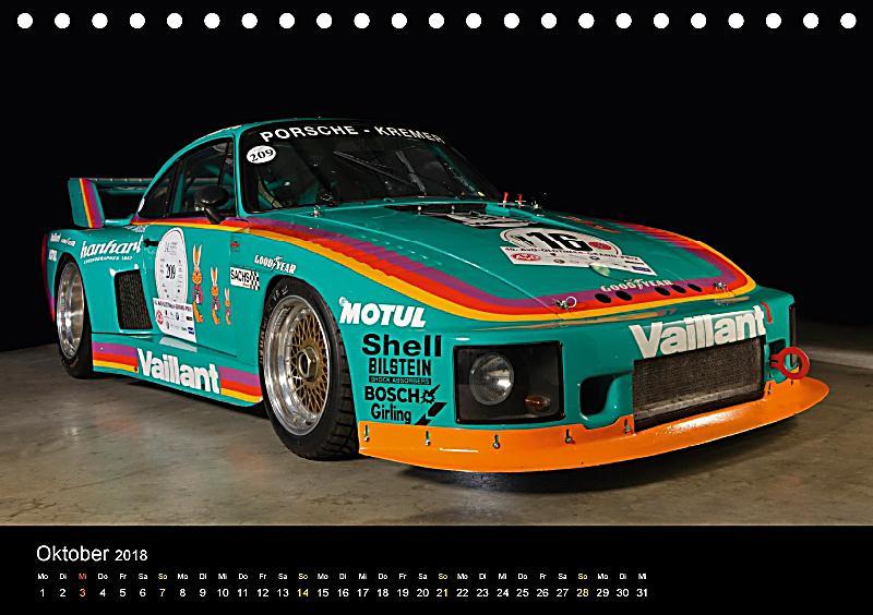 racing legend the porsche 635 k2 tischkalender 2018 din. Black Bedroom Furniture Sets. Home Design Ideas