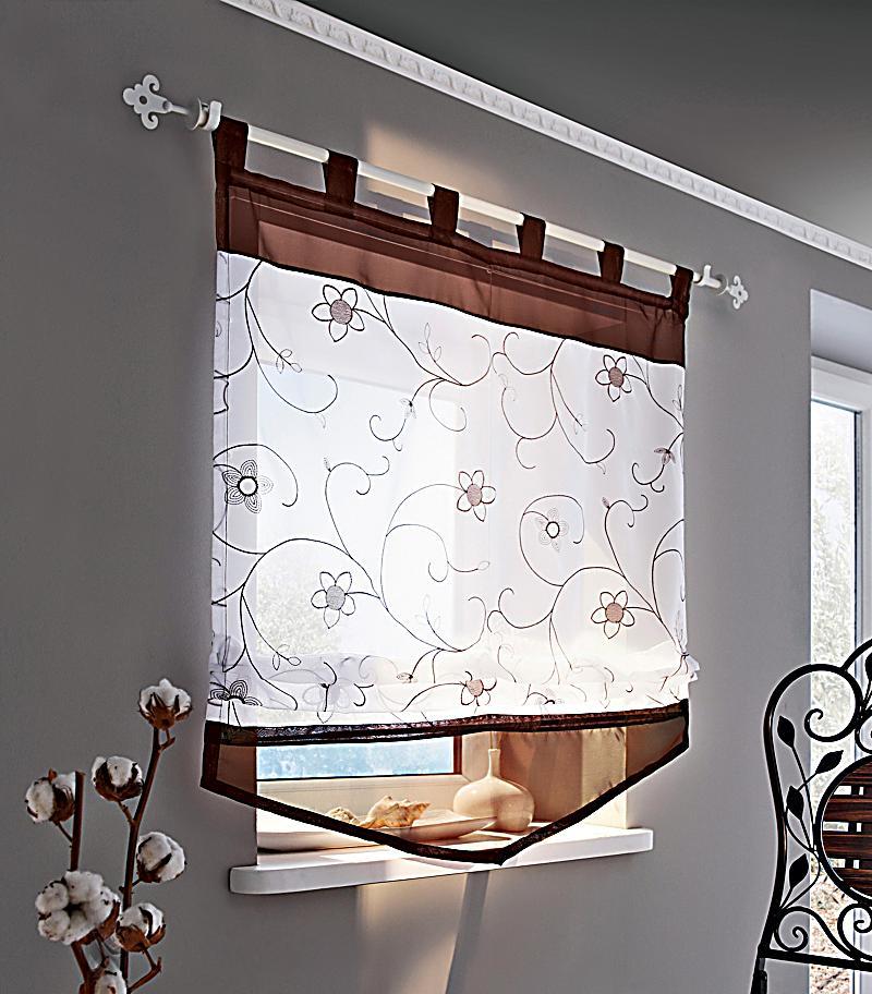 raffrollo bl tenzauber gr e 100 x 140 cm. Black Bedroom Furniture Sets. Home Design Ideas
