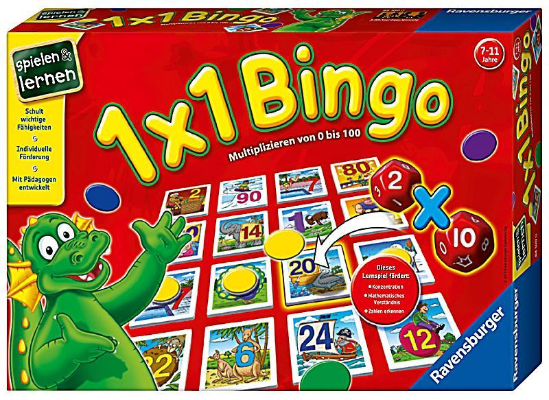 1x1 Bingo