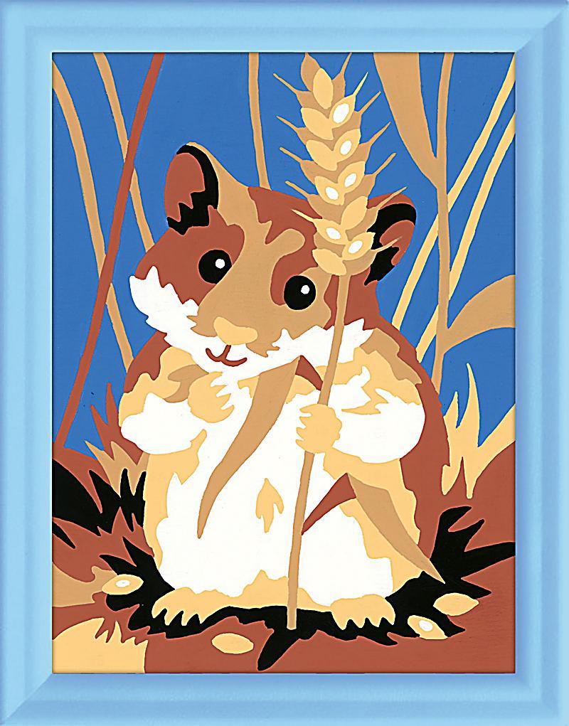 Ravensburger Malen Nach Zahlen Hamster Bestellen Weltbildde
