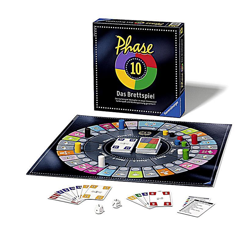 Phase 10 Das Brettspiel