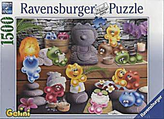 Gelini Puzzle Küche | Ravensburger Puzzle Gelini Wellness 1500 Teile Weltbild De