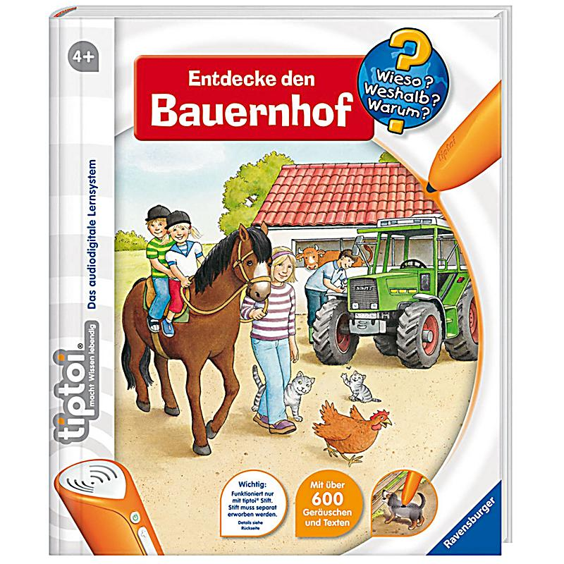 ravensburger tiptoi starterset ausf hrung bauernhof. Black Bedroom Furniture Sets. Home Design Ideas