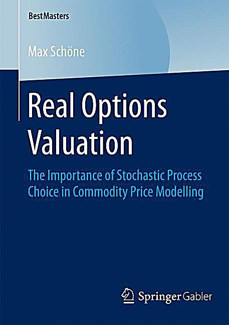 Real options stock valuation