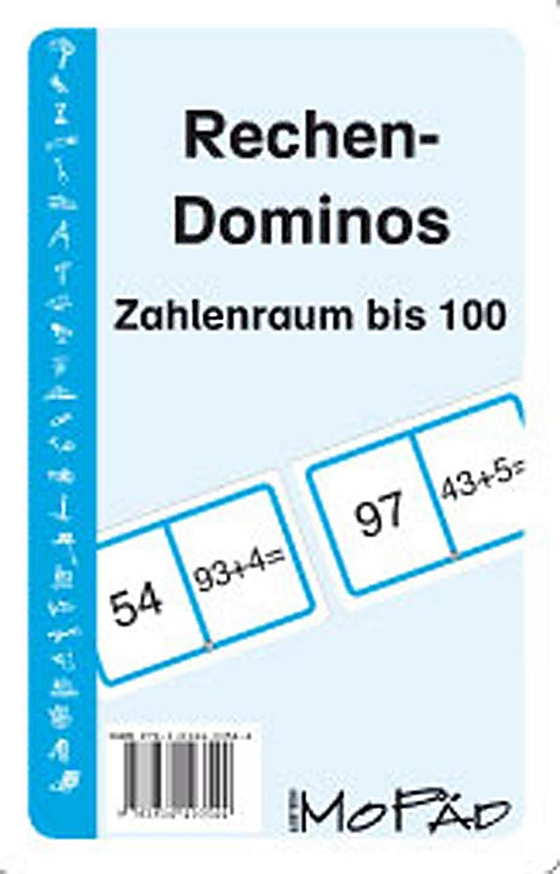 rechen dominos zahlenraum bis 100 kartenspiel buch. Black Bedroom Furniture Sets. Home Design Ideas
