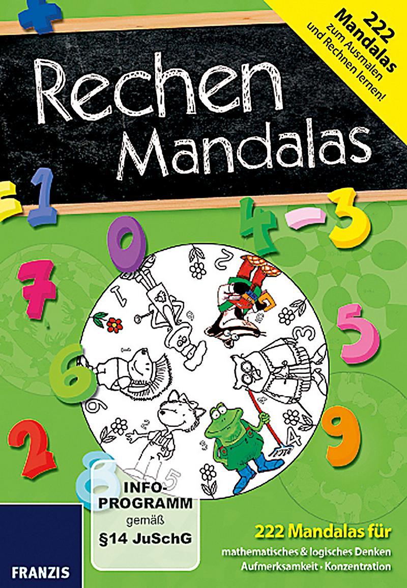 Rechenmandalas Zum Kostenlosen Download Und Ausdrucken Mandala Feed Pictures to pin on Pinterest