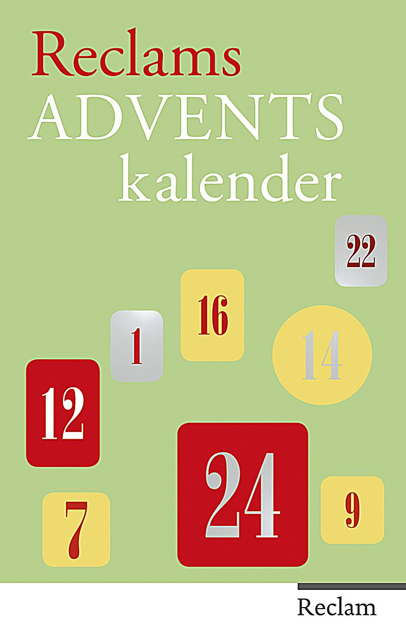 reclams adventskalender buch bei online bestellen. Black Bedroom Furniture Sets. Home Design Ideas
