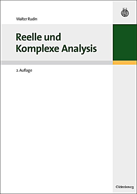 reelle und komplexe analysis buch portofrei bei. Black Bedroom Furniture Sets. Home Design Ideas