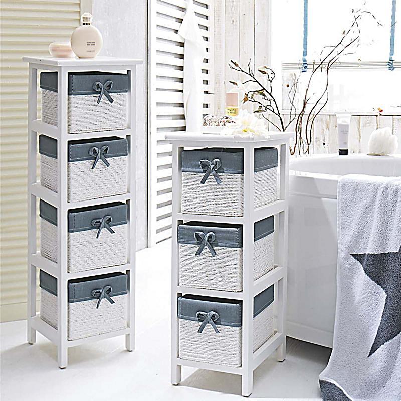 regal helen mit 4 k rben wei grau bestellen. Black Bedroom Furniture Sets. Home Design Ideas
