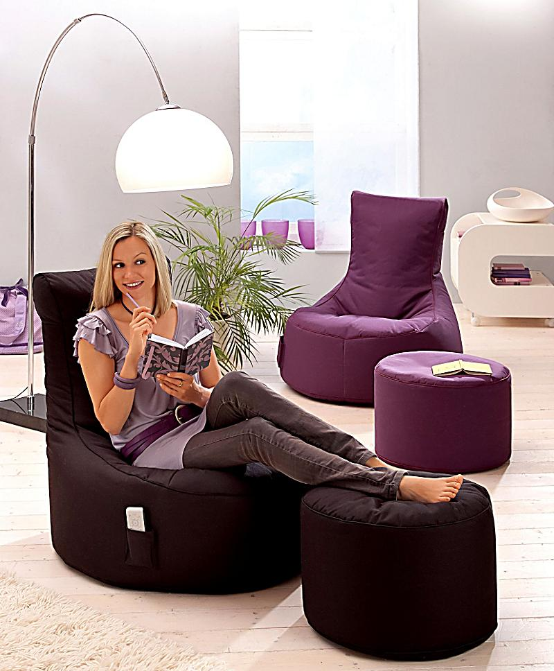 relax it sitzsack swing und hocker dot com farbe. Black Bedroom Furniture Sets. Home Design Ideas