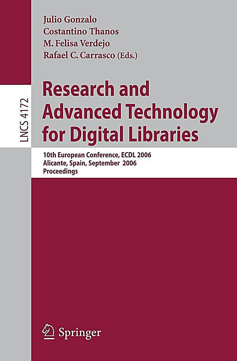digital libraries+xml research papers Dlf electronic resource management initiative this information to libraries in a variety of paper and electronic of the digital library.