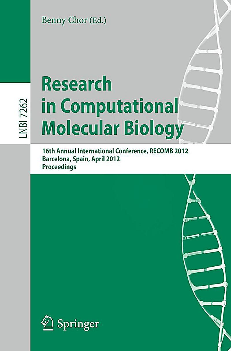 research papers computational biology Research centers & institutes  center for computational biology  department of computer science, johns hopkins university.