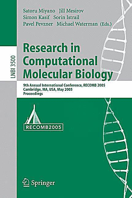 Research papers computational biology