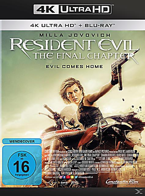 Resident evil the final chapter 4k ultra hd film - Resident evil final chapter 4k ...