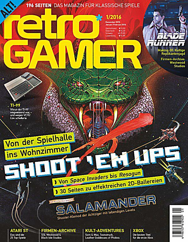 retro gamer 1 2016 ebook jetzt bei als download. Black Bedroom Furniture Sets. Home Design Ideas