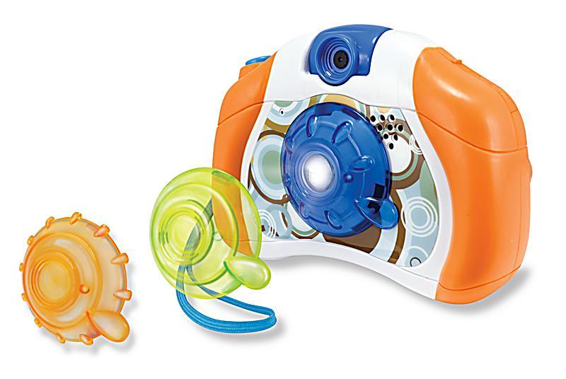 Retro Kamera orangeblau jetzt bei weltbildde bestellen