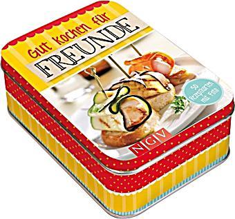 rezeptbox gut kochen f r freunde m 50 rezeptkarten buch kaufen. Black Bedroom Furniture Sets. Home Design Ideas