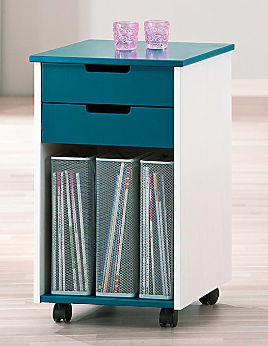 rollcontainer alexandro kidz line farbe petrol. Black Bedroom Furniture Sets. Home Design Ideas