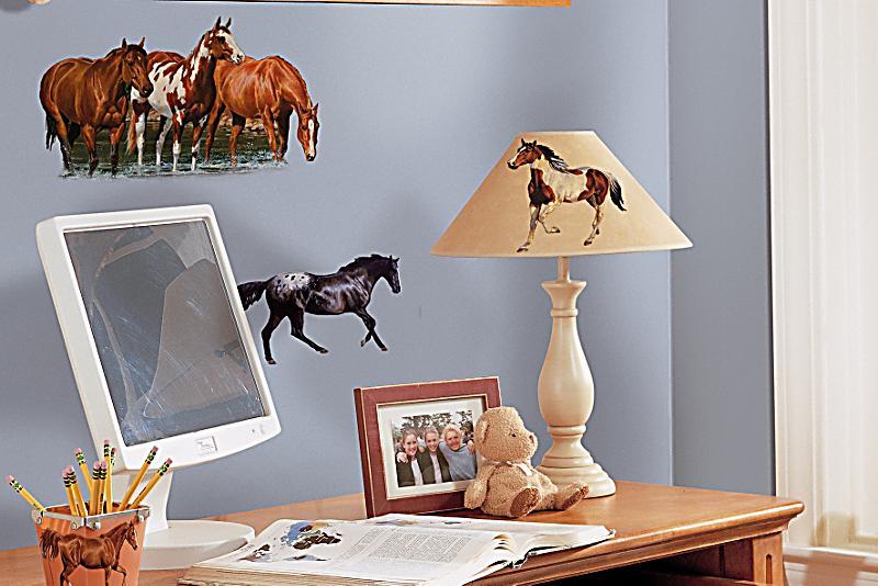 Roommates wandsticker 24tlg design pferde - Roommates wandsticker ...