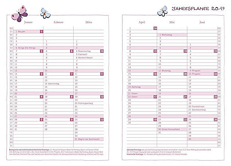 rosina wachtmeister tagebuch kalender 2019 kalender. Black Bedroom Furniture Sets. Home Design Ideas
