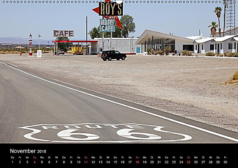 route 66 im s dwesten wandkalender 2018 din a2 quer. Black Bedroom Furniture Sets. Home Design Ideas