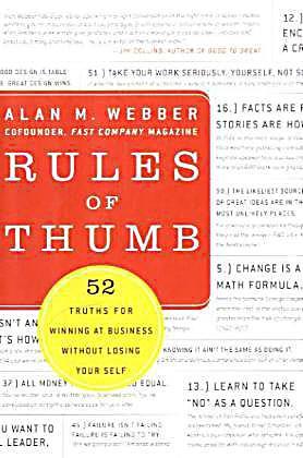 Rules of thumb webber blog