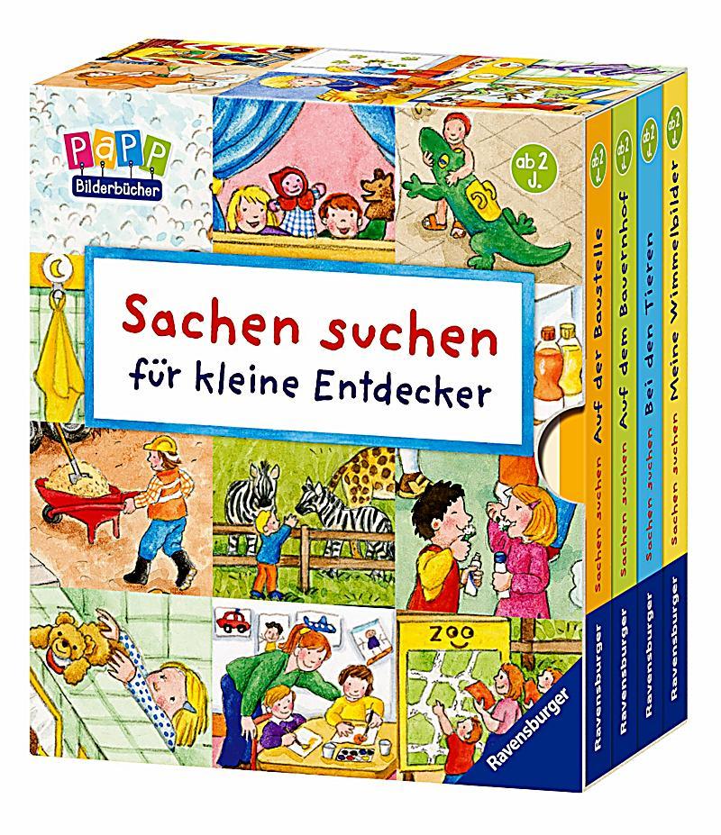 Sachen suchen für kleine Entdecker, 4 Bände Buch  Weltbild.de