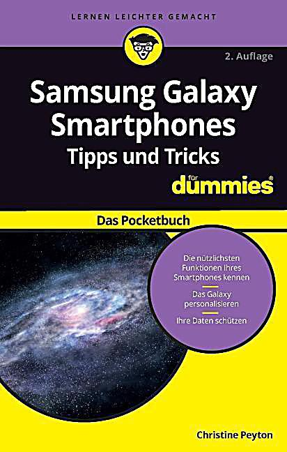 samsung galaxy smartphone tipps und tricks f r dummies buch. Black Bedroom Furniture Sets. Home Design Ideas