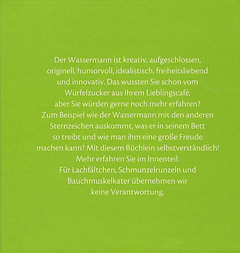 satierkreiszeichenbuch der wassermann buch portofrei. Black Bedroom Furniture Sets. Home Design Ideas