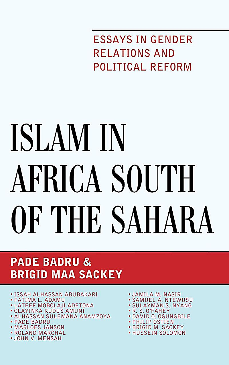 islam africa thesis A thesis submitted in partial fulfillment  (african-american and arab american), their differing views on theology, racism, and  african american islam, new .