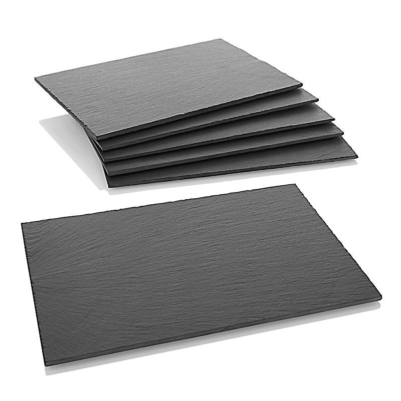 schieferplatten 6er set jetzt bei bestellen. Black Bedroom Furniture Sets. Home Design Ideas