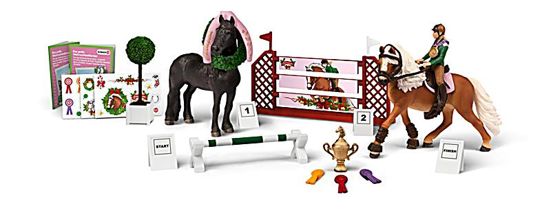 schleich adventskalender pferde 2015 bestellen. Black Bedroom Furniture Sets. Home Design Ideas