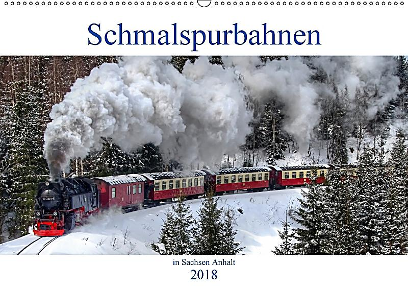 schmalspurbahnen in sachsen anhalt wandkalender 2018 din a2 quer kalender bestellen. Black Bedroom Furniture Sets. Home Design Ideas
