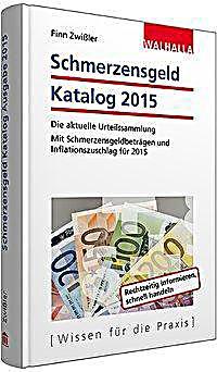 Schmerzensgeld Katalog 2015 Buch Portofrei Bei