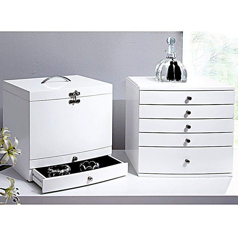 schmuckkasten ida farbe wei jetzt bei bestellen. Black Bedroom Furniture Sets. Home Design Ideas
