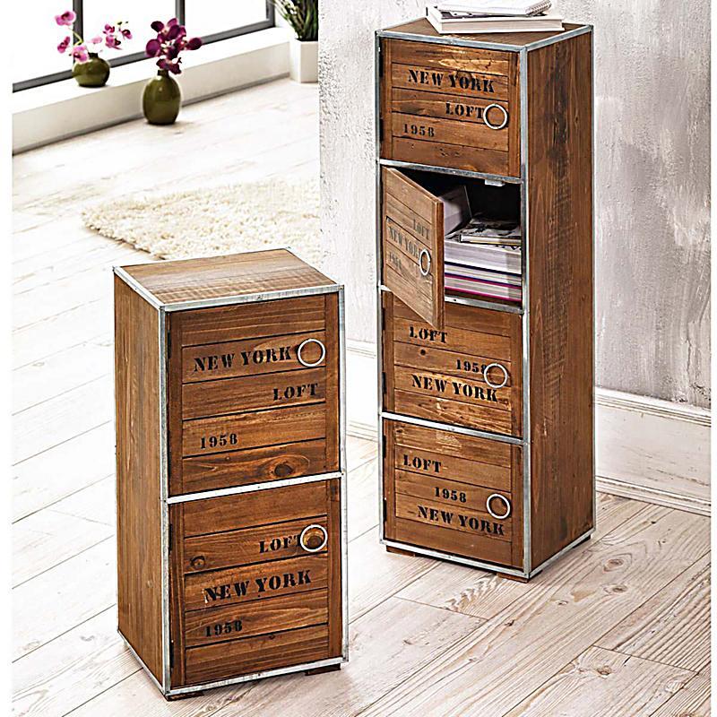 schrank new york gro braun jetzt bei bestellen. Black Bedroom Furniture Sets. Home Design Ideas
