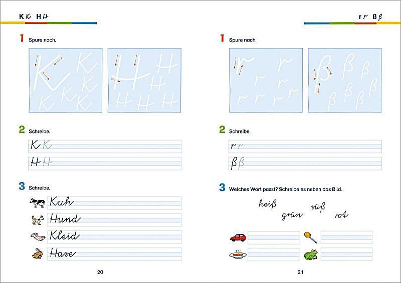 schreibschrift 252ben vereinfachte ausgangsschrift 1