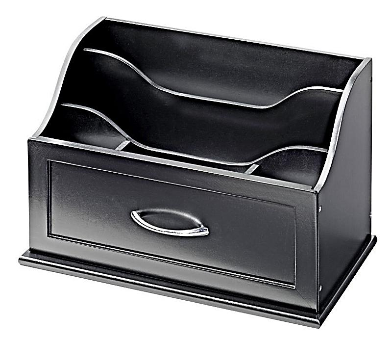 schreibtisch organizer schwarz jetzt bei bestellen. Black Bedroom Furniture Sets. Home Design Ideas