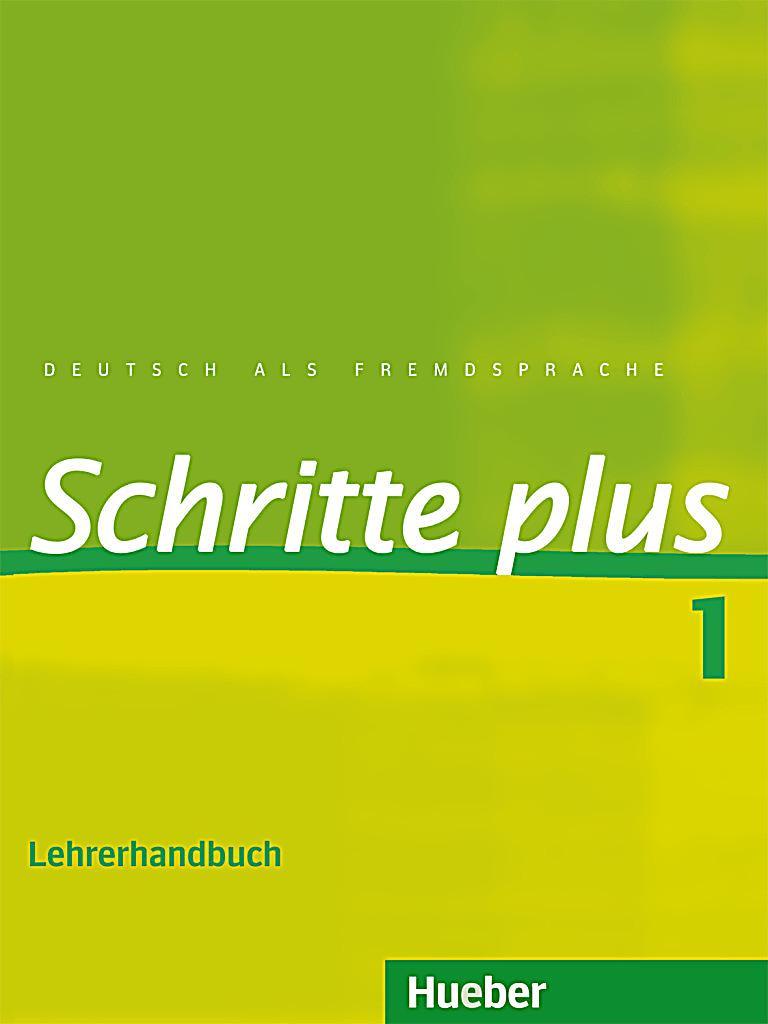 schritte plus deutsch als fremdsprache bd 1 lehrerhandbuch buch. Black Bedroom Furniture Sets. Home Design Ideas