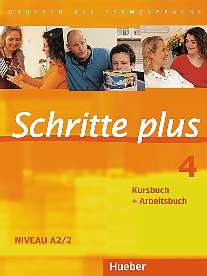 schritte plus deutsch als fremdsprache bd 4 kursbuch arbeitsbuch buch. Black Bedroom Furniture Sets. Home Design Ideas