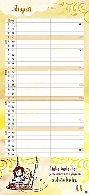 schutzengel planer f r zwei kalender 2019 kalender. Black Bedroom Furniture Sets. Home Design Ideas