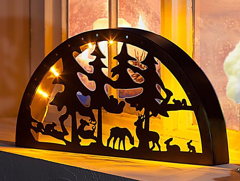 schwibbogen mit led licht jetzt bei bestellen. Black Bedroom Furniture Sets. Home Design Ideas
