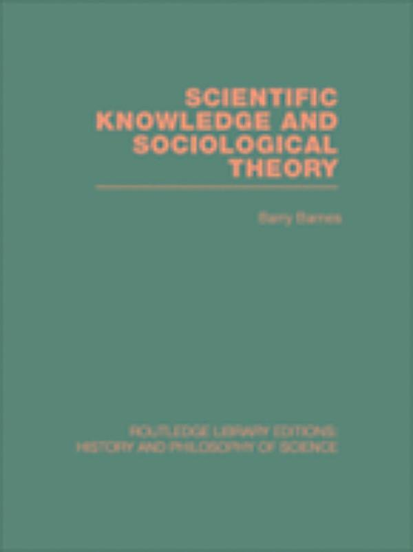 scientific knowledge Study of the social dimensions of scientific knowledge encompasses the effects of scientific research on human life and social relations, the effects of social.