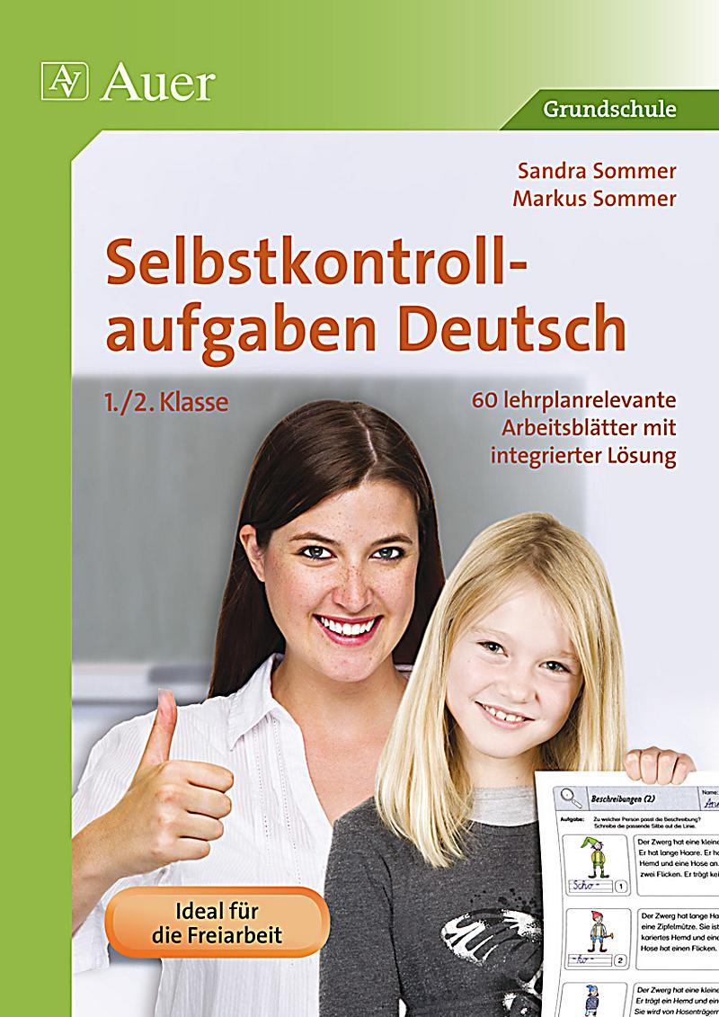 Selbstkontrollaufgaben Deutsch 1. 2. Klasse Buch - Weltbild.de