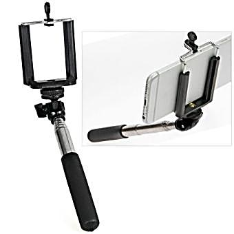 selfie stick ausziehbarer handy halter ca 60 cm. Black Bedroom Furniture Sets. Home Design Ideas
