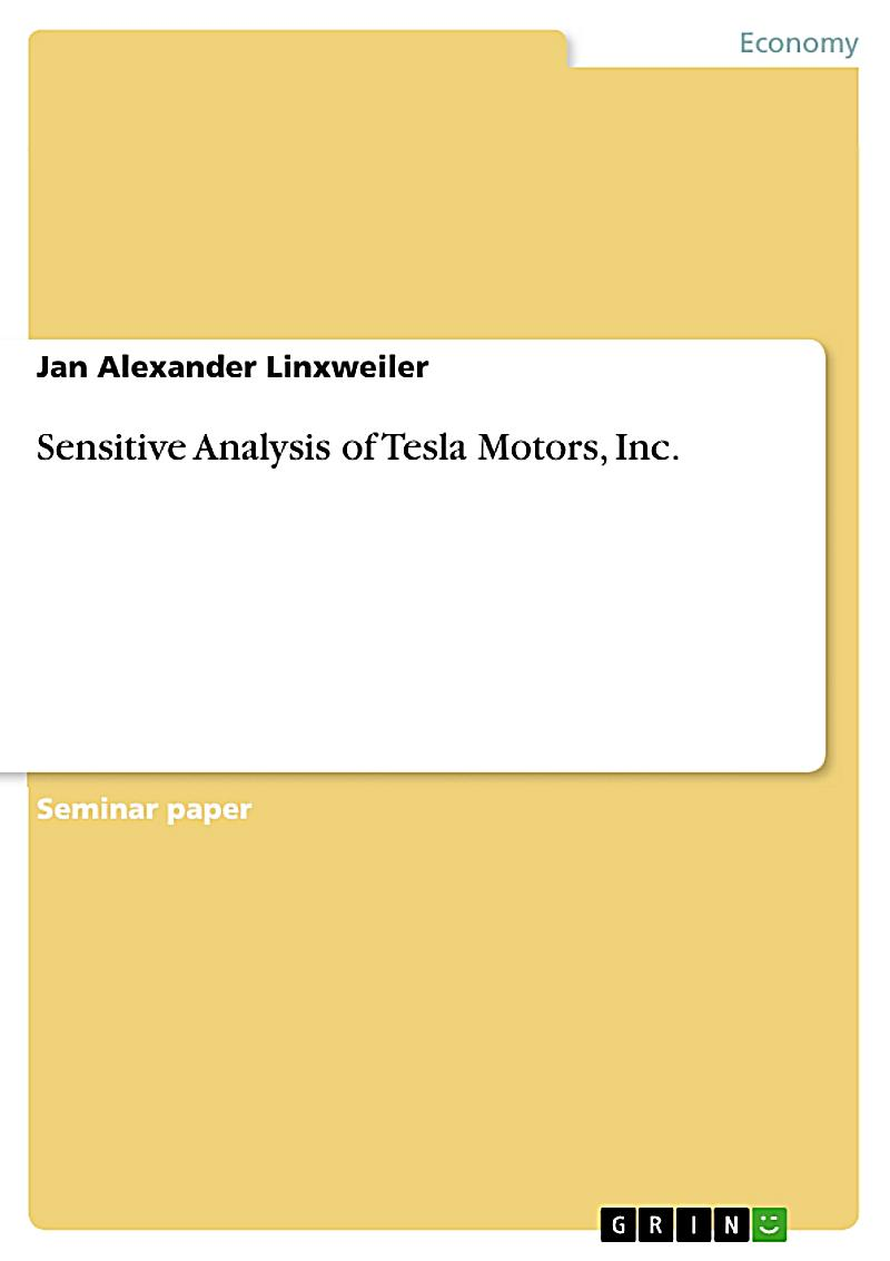 tesla motors situation analysis Swot analysis of scenario faced by tesla analysis of the company's internal and external environmental situations strategic analysis report - tesla motors.