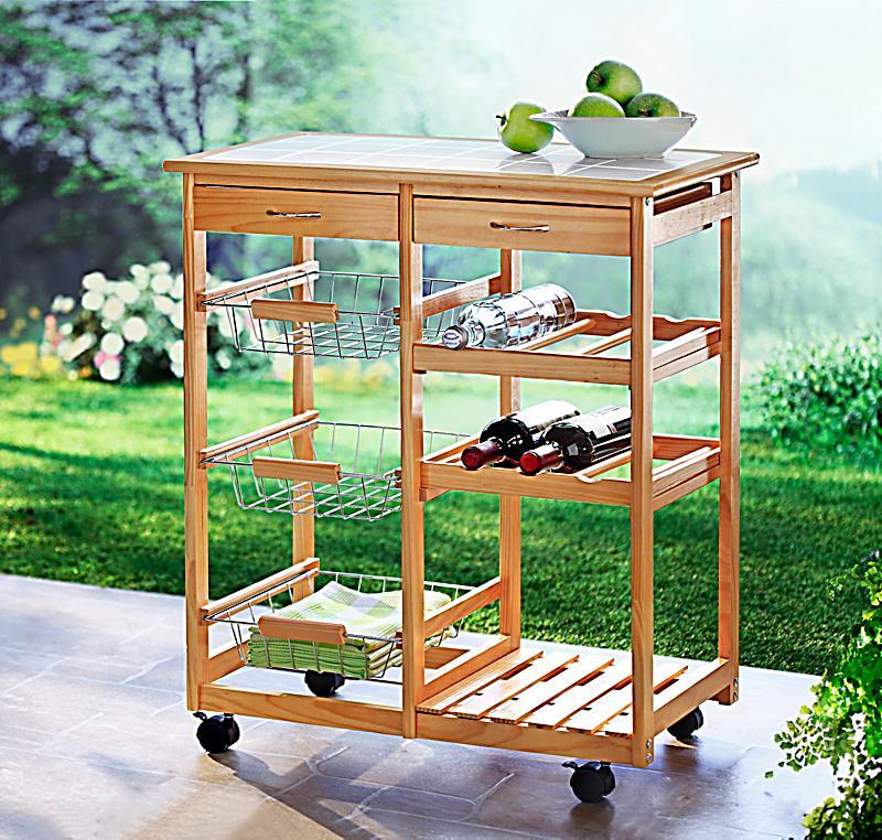 servierwagen aus holz jetzt bei bestellen. Black Bedroom Furniture Sets. Home Design Ideas