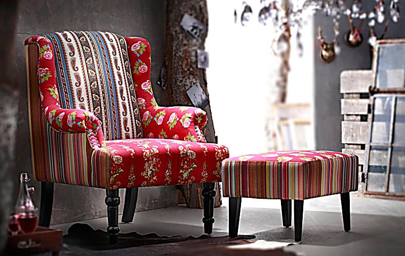 Ohrensessel patchwork  Sessel Patchwork jetzt bei Weltbild.de bestellen