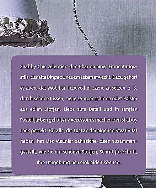 Shabby Nähen Buch von Lise Meunier portofrei bei Weltbild.ch